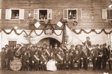 Fahnen, Schützenkompanie, Struckerschützen, Altenmarkt