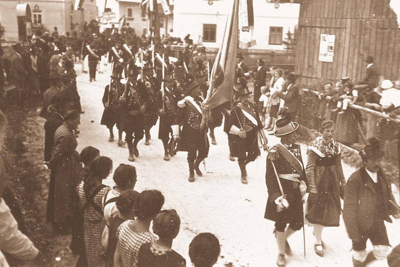 Schützenkompanie, Festzug, 1929