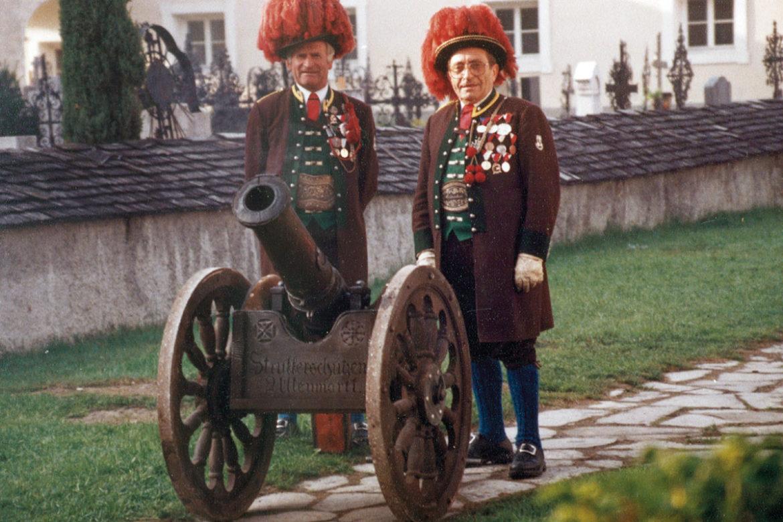Kanone, Schützenkompanie, Struckerschützen, Altenmarkt
