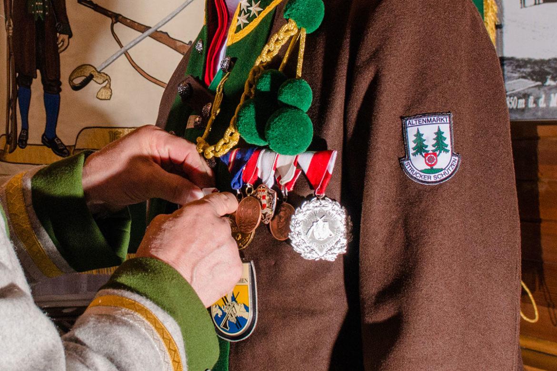 Schützenkompanie, Abzeichen, Uniform